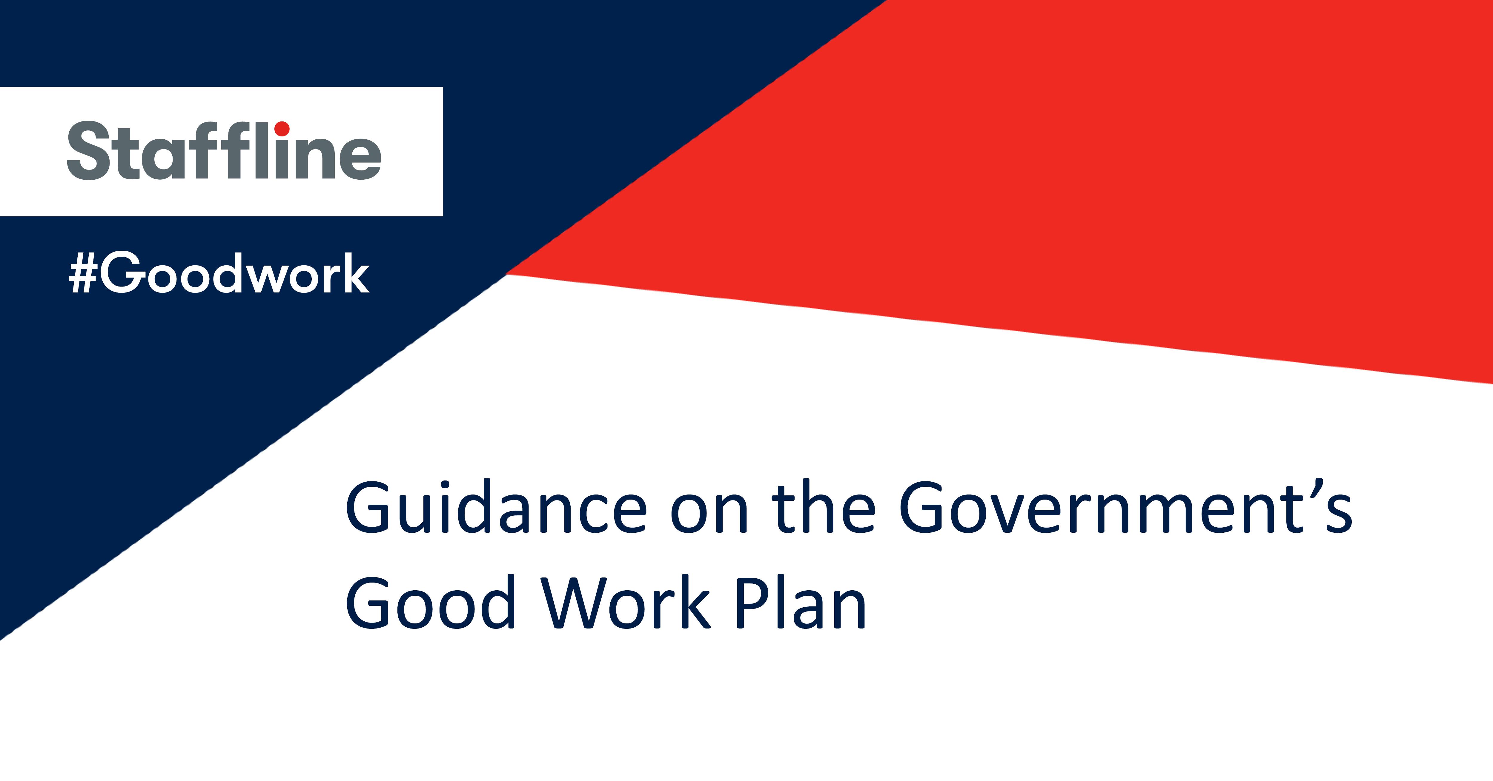 Good Work Plan